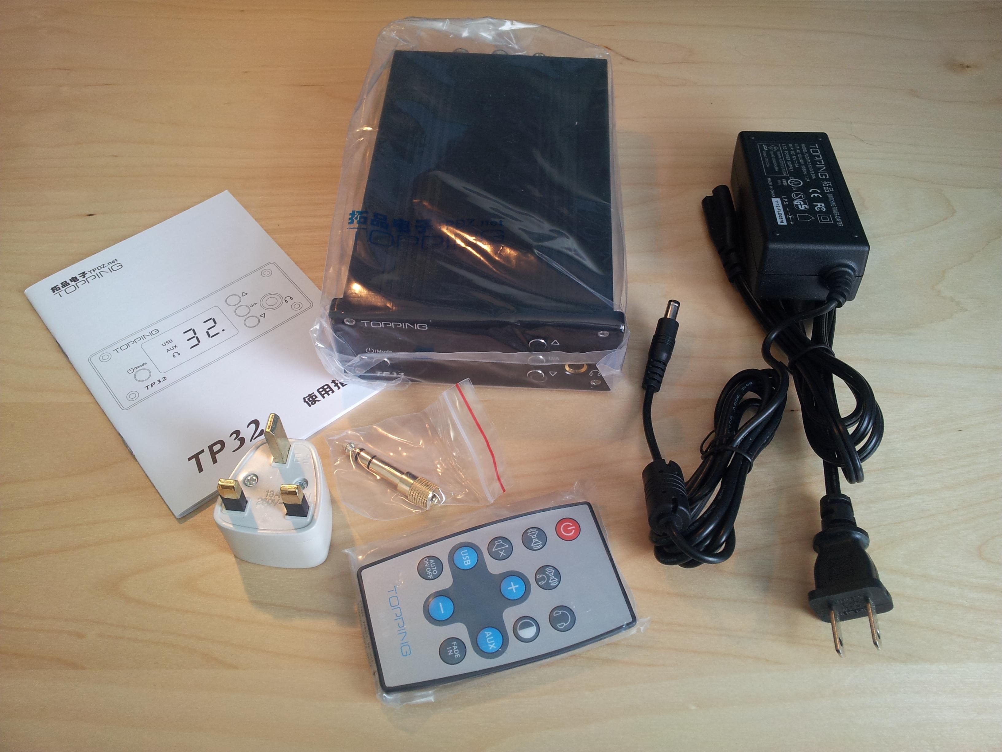 Topping TP32 Class T amplifier & DAC